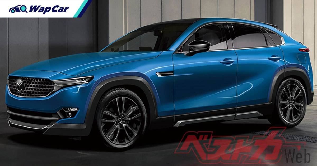 This RWD 2023 Mazda CX-50 is Japan's answer to the BMW X4 and Mercedes GLC Coupe 01