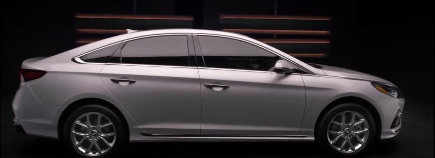 Hyundai Sonata (2017) Exterior 005