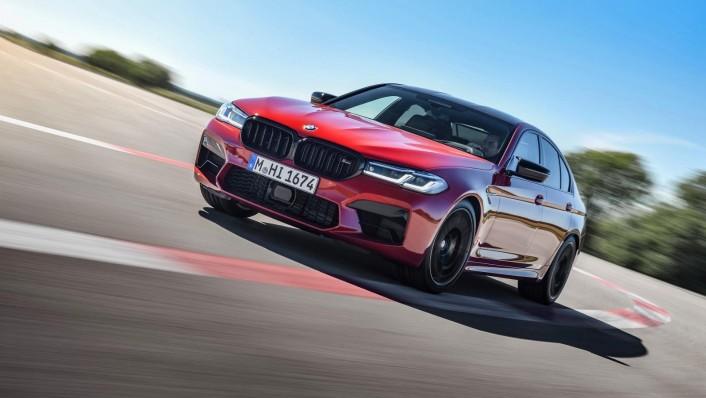 2020 BMW M5 Exterior 002