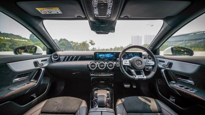 2019 Mercedes-Benz AMG A-Class A35 Interior 001