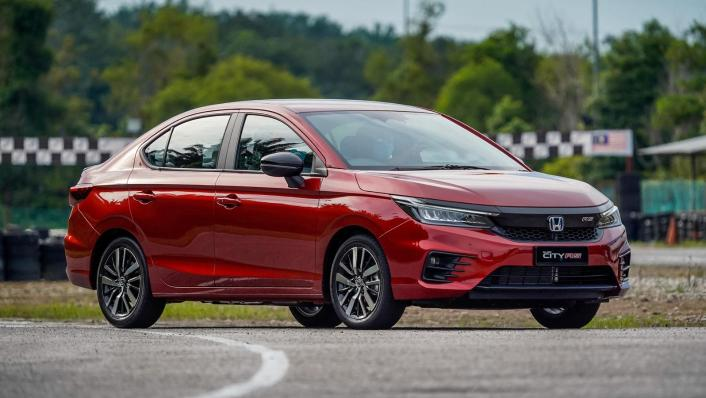 2020 Honda City RS 1.5 Hybrid Exterior 006