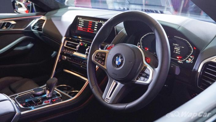 2020 BMW M850i xDrive Gran Coupe Interior 002