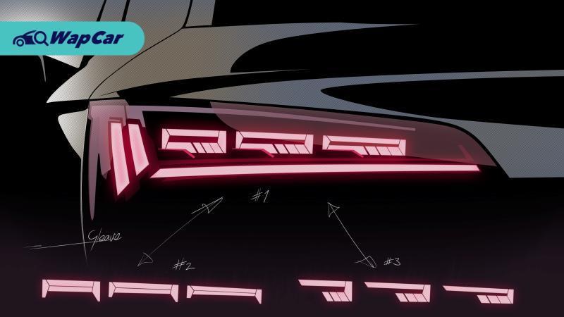Lampu belakang OLED digital Audi pada 2020 Audi Q5 sebenarnya ialah skrin TV 01