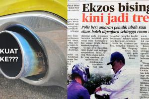 Isu ekzos bising – berapa tahap desibel (dB) maksima untuk elak denda RM 2,000/6 bulan penjara?