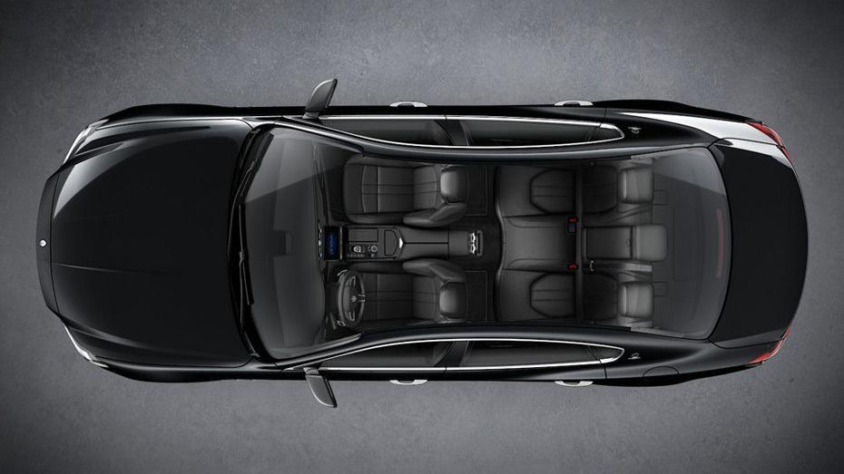 Maserati Quattroporte (2018) Interior 014