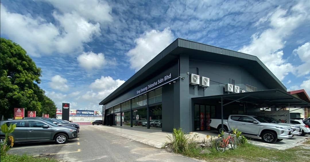 New look for Mitsubishi Motors' new 3S Centre in Melaka 02