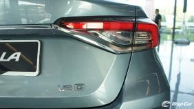 2019 Toyota Corolla Altis 1.8E Exterior 015