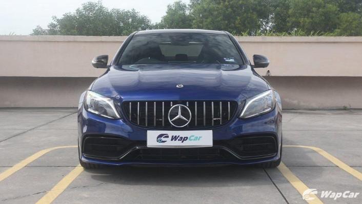 2019 Mercedes-Benz AMG C-Class AMG C63 Exterior 002