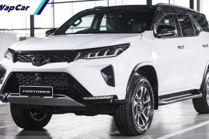 Toyota Fortuner facelift 2021 dibuka untuk tempahan: Bermula RM 172k - TSS, 204 PS/500 Nm tork