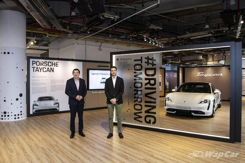 Porsche #DrivingTomorrow exhibition opens at Changi Airport, until 16 January 2021 02