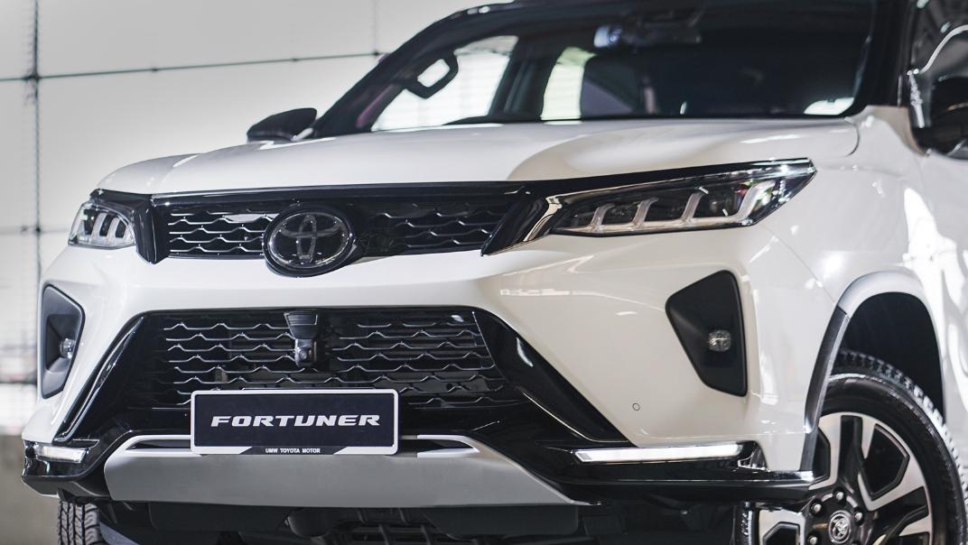 2021 Toyota Fortuner 2.8 VRZ AT 4x4 Exterior 006