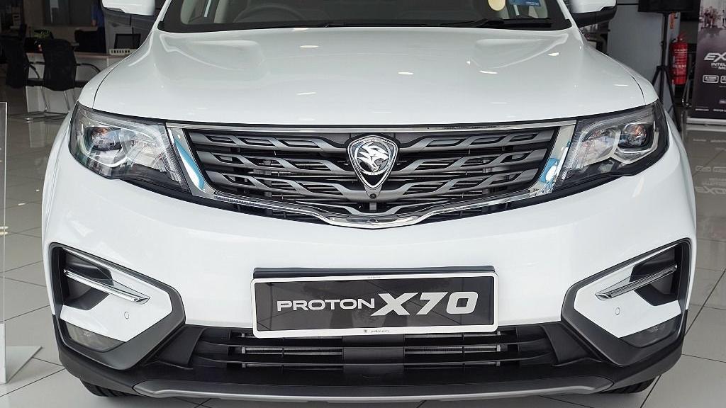 2018 Proton X70 1.8 TGDI Executive AWD Exterior 008
