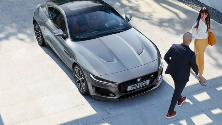 2020 Jaguar F‑TYPE Coupe Exterior 004