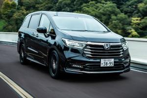 Honda Odyssey facelift with Star Wars tech coming to Malaysia in 2021