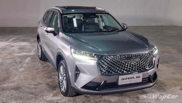 2021 Haval H6 Upcoming Version Exterior 002