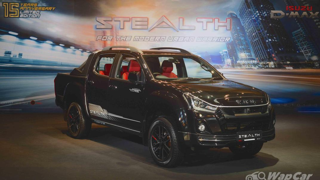 2020 Isuzu D-Max Stealth 1.9L 4×4 AT Exterior 034