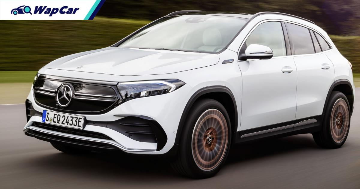 Mercedes-Benz EQA debuts, 420 km range entry-level premium electric car 01
