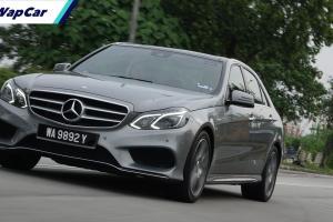 Mercedes-Benz E-Class W212 - kini serendah RM 130k, baloi tak angkat 'second hand'?