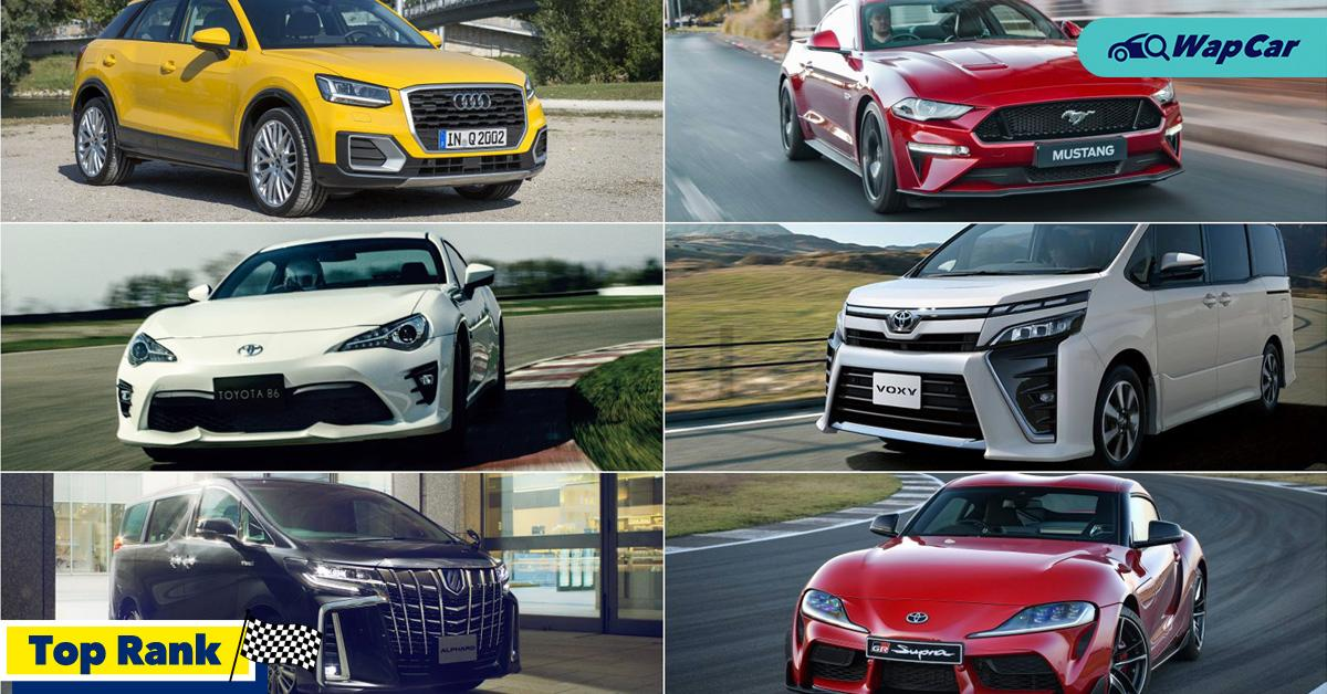 Top Rank: 6 cars to buy recond over official 01