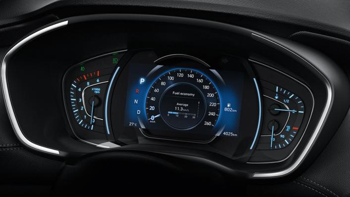Hyundai Santa Fe (2019) Interior 002