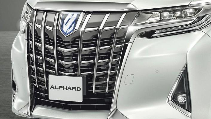 Toyota Alphard (2018) Exterior 004