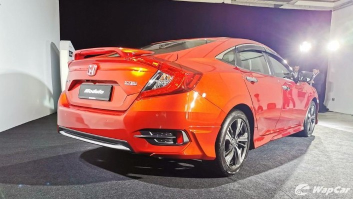 2020 Honda Civic 1.5 TC Exterior 004