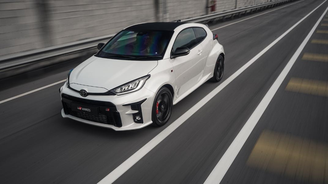 2021 Toyota GR Yaris Exterior 060