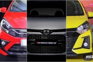 Perodua Axia vs its Indo cousins Toyota Agya, Daihatsu Ayla - are Malaysians shortchanged?