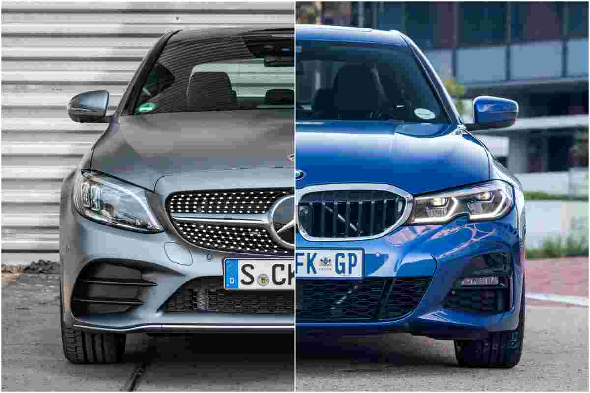 BMW 330i vs Mercedes-Benz C300, you might be surprised what a RM 300k car doesn't have