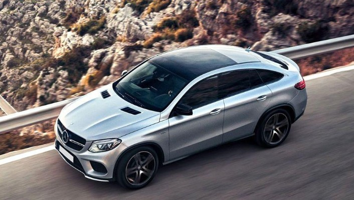 2018 Mercedes-Benz GLE Coupe GLE 400 4Matic Coupe AMG Line Exterior 002