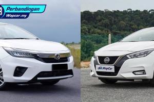 COTY 2020: Saya nak kereta selesa! Nissan Almera 2020 atau Honda City 2020? Jom undi!