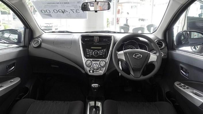 2018 Perodua Axia SE 1.0 AT Interior 001