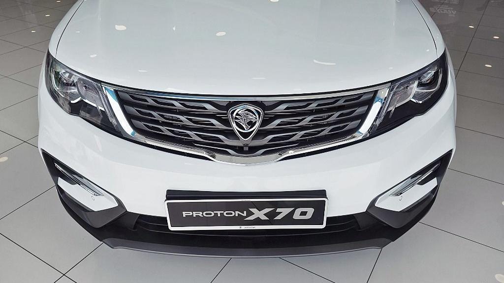 2018 Proton X70 1.8 TGDI Executive AWD Exterior 010