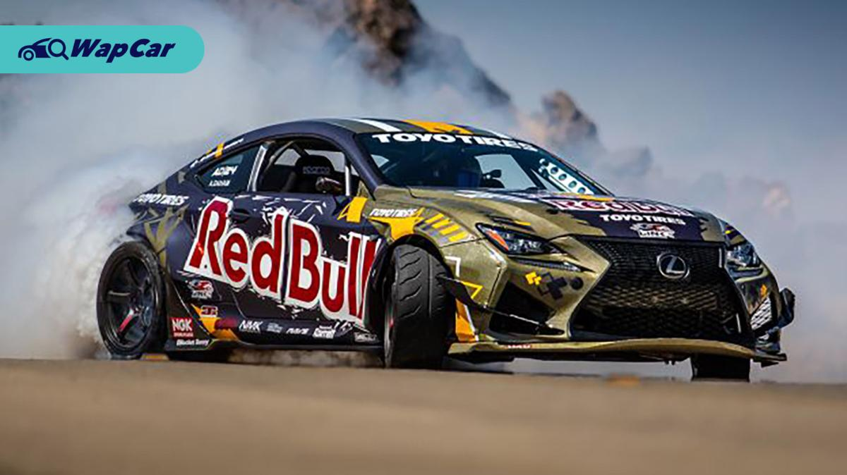 This 1,200 PS Lexus RC F is the world's most advanced drift car 01