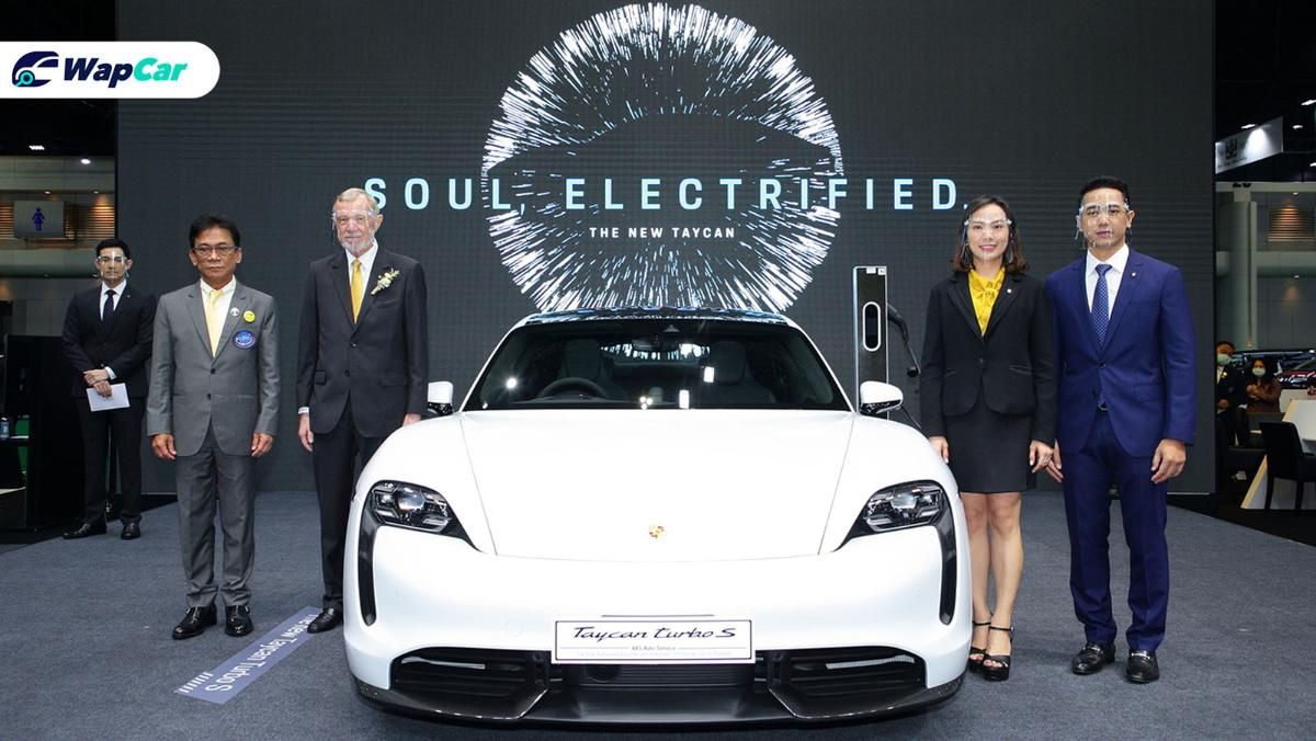 Porsche Taycan launched in Thailand - costs over RM 1.5 million 01