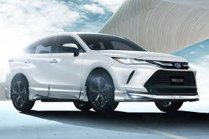 Some say the Modellista-modified 2021 Toyota Harrier ruins the subtlety - what say you?