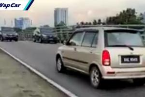 Tular warga emas pandu Perodua Kelisa lawan arus di LKSA. Patut ada had umur memandu?