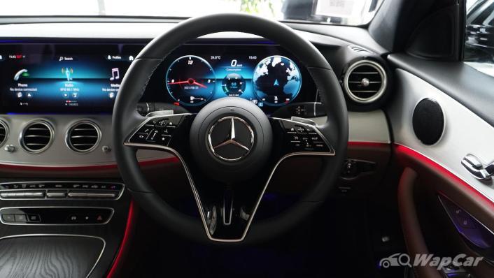 2021 Mercedes-Benz E-Class E200 Avantgarde Interior 002
