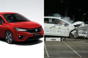 Honda City terlalu konsisten skor 5 bintang ASEAN NCAP sampai menang anugerah!