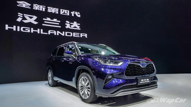Toyota Harrier too small? Here's the Toyota Crown Kluger unveiled at Shanghai Auto 2021 02