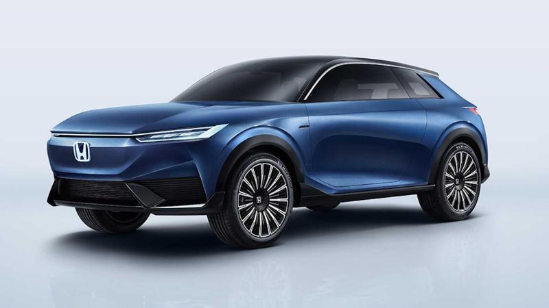 Honda SUV e:concept di pratonton; sekilas reka bentuk Honda akan datang? 02