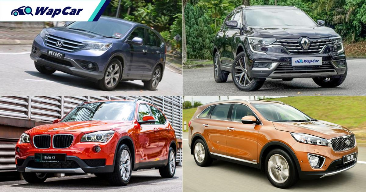 Earn RM 5k but want an SUV? Here are 6 great used choices from CR-V to Fortuner! 01
