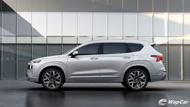 New 2021 Hyundai Santa Fe design revealed, it's all about the lights 02