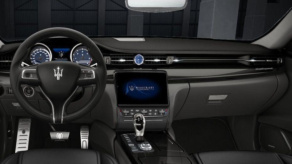 Maserati Quattroporte (2018) Interior 001