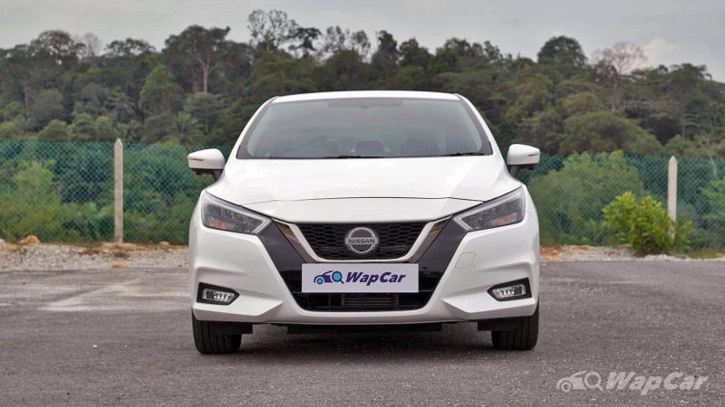 2020 Nissan Almera front view