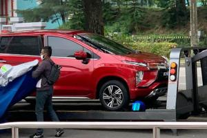 Spied: Mitsubishi Xpander spotted in red, Malaysia launch coming soon