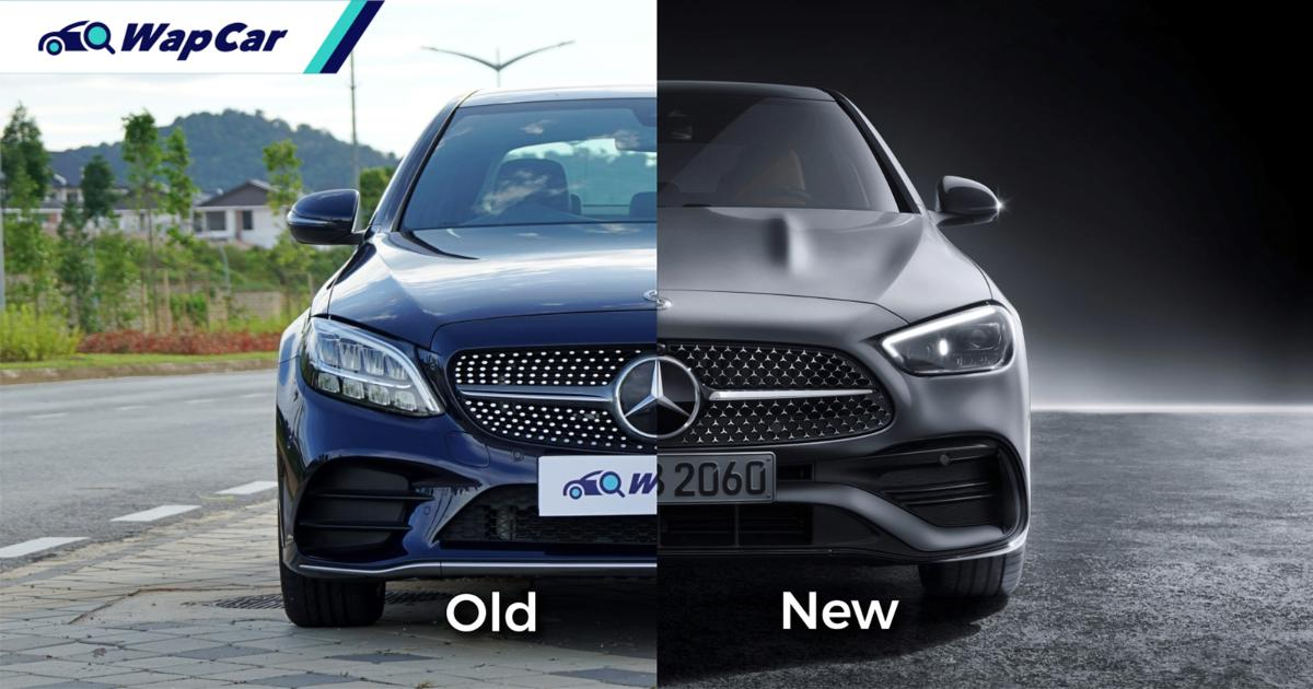 Old vs New: 2021 Mercedes-Benz C-Class (W206), like the new design better? 01