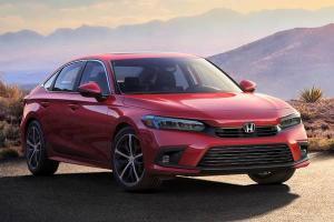 全新款2022 Honda Civic正式发布官方图片,4月28日将全球首发