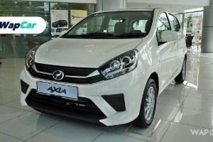 Perodua Axia 2019, kereta Malaysia dengan VSC paling murah