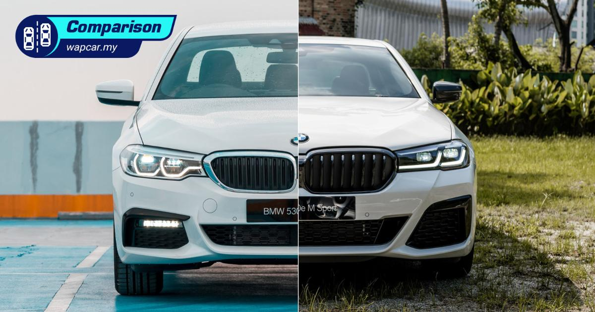 New vs Old: 2021 G30 BMW 530e PHEV LCI – Now with CarPlay, but it ain't free 01